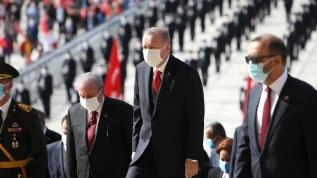 Başkan Erdoğan: Ülkemizin önünü kesmeye yönelik saldırılar mücadele azmimizi artırıyor