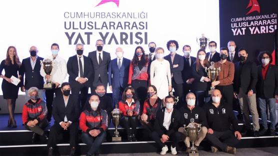 Cumhurbaşkanlığı Uluslararası Yat Yarışı'nda Ödüller sahiplerini buldu