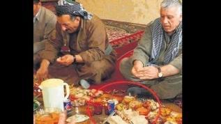 Teröristler sefalet içinde, PKK elebaşları ziyafette