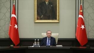 MGK Başkan Erdoğan başkanlığında toplandı
