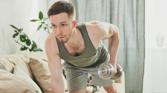 Evde spor yaparken sakatlanmayın