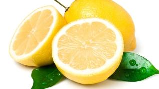 Yemeklere taze limon sıkın