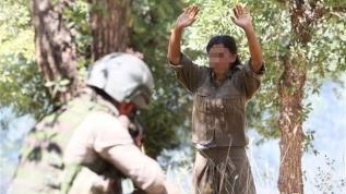 Teslim olan kadın teröristten flaş sözler: Hepsi tecavüze uğradı