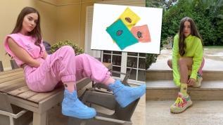 Yardım için parfümlü çorap tasarladı