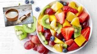 Meyveyi tahinli yemek hastalıklardan koruyor