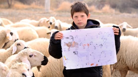 Resim sevdalısı küçük çoban