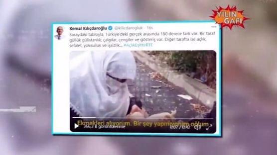 Kılıçdaroğlu'nun 'açlık' yalanı ortaya çıktı!