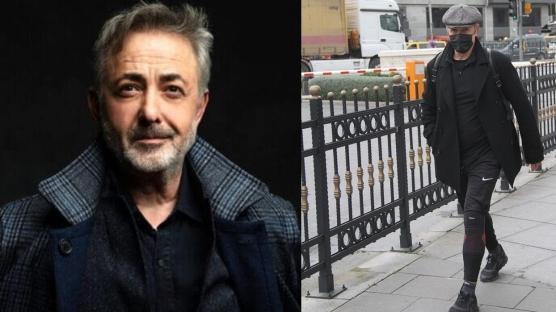 Mehmet Aslantuğ'un sokak tarzı dikkat çekti!
