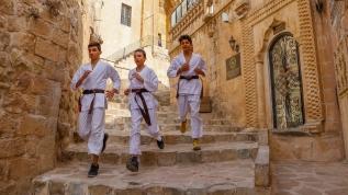 Tarihi sokaklarda milli takıma hazırlık