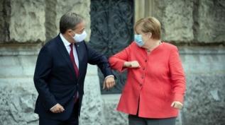 Angela Merkel'in partisinin genel başkanı Armin Laschet oldu