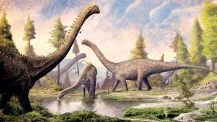 En büyük dinozor fosili Arjantin'de bulundu