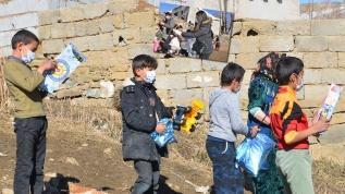 Köy çocuklarına oyuncak seferberliği