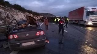 Tarsus'ta korkunç kaza! Çok sayıda ölü var