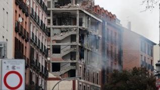 Madrid'de bir binada şiddetli patlama meydana geldi!