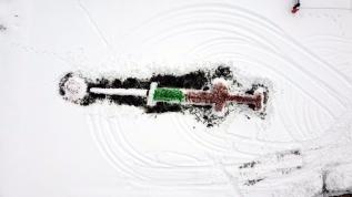 20 metrelik 'kardan enjektör'