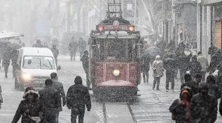 Meteoroloji tarih verdi: Kar geri geliyor