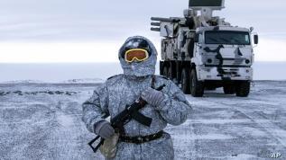 Kuzey Kutbu'nda güç savaşı!