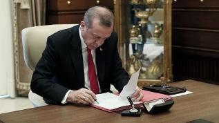 Başkan Erdoğan imzaladı...