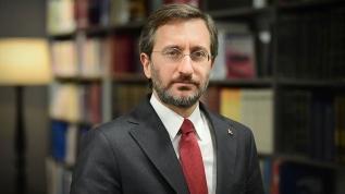 İletişim Başkanı Fahrettin Altun'dan 'militan' tepkisi