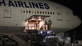 Beklenen uçak İstanbul'a iniş yaptı