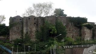 Miras kalan kalede yaşamak istiyorlar