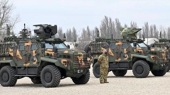 Türk zırhlısı Macaristan'da! İlk teslimatı yapıldı