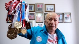 72 yaşında atletizmde rekor kırıyor