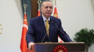 Başkan Erdoğan merhum başbakanlardan Erbakan'ı andı