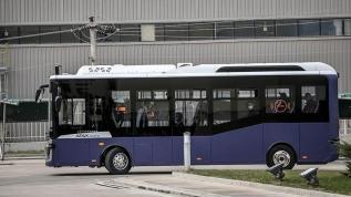 Sürücüsüz otobüs Otonom Atak Electric yollara çıkıyor