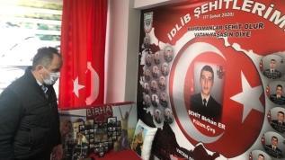 Mestan Özcan'dan Şehit Ailelerine Anlamlı Ziyaret