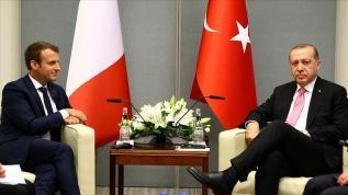 Başkan Erdoğan ve Macron ile görüşecek