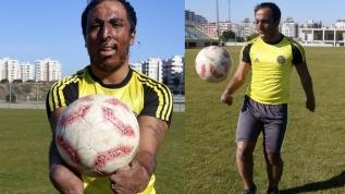 Futbolla hayata tutundu