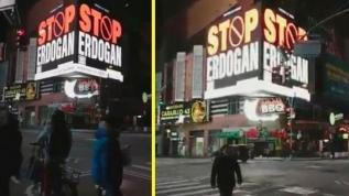 ABD'de FETÖ propagandası! New York sokaklarında ilan verdiler