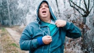 Soğukta rüzgâra karşı yürümeyin Kalp krizi geçirebilirsiniz