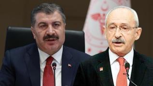 Bakan Koca'dan Kılıçdaroğlu'na yanıt