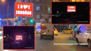 'Stop Erdoğan' skandalına Türkiye'den cevap: Love Erdoğan