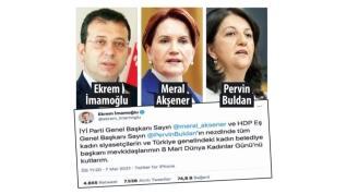 İmamoğlu attığı tweetle ittifakı böldü, HDP'yi sevindirdi