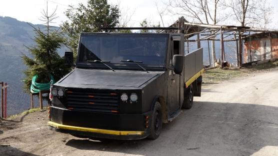 Hurdalar kamyonet oldu Maliyeti 10 bin lira