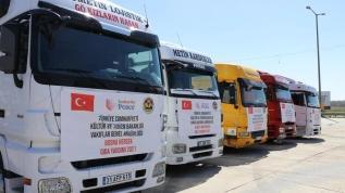 Türkiye'den 4 ülkeye yardım