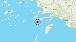 Ege Denizi'nde 5.1 büyüklüğünde deprem meydana geldi