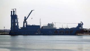 Orta Doğu'nun en büyük tarak gemisini filolarına kattılar
