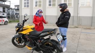 Motosiklet aşkı meslek değiştirtti