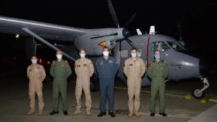 NATO'nun gönderdiği deniz karakol uçağı Türkiye'ye ulaştı