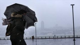 Meteoroloji'den 5 il için kuvvetli rüzgar ve fırtına uyarısı