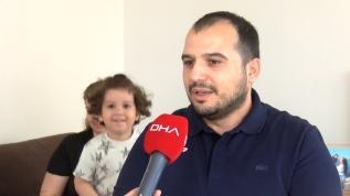 3 yaşındaki Ata sesine kavuştu