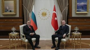 Başkan Erdoğan, Borisov ile görüştü