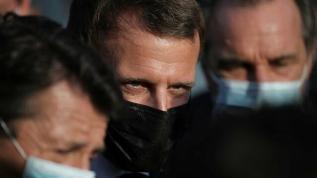 Macron'a ziyareti sırasında soğuk duş! Hiç beklemiyordu