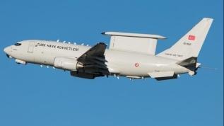 TSK'nın E-7T HİK uçağından bir ilk!