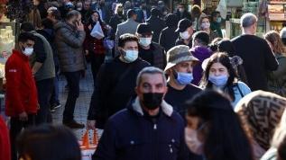Türkiye'de günlük vefat sayısı 360'ı geçti