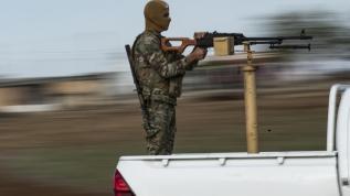 Kamışlı'da rejimle YPG/PKK çatıştı
